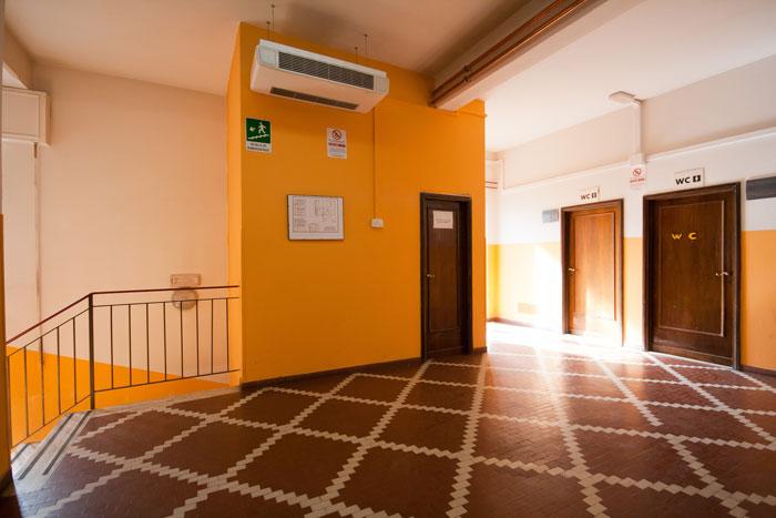Istituto Leonardo da Vinci - Atrio interno