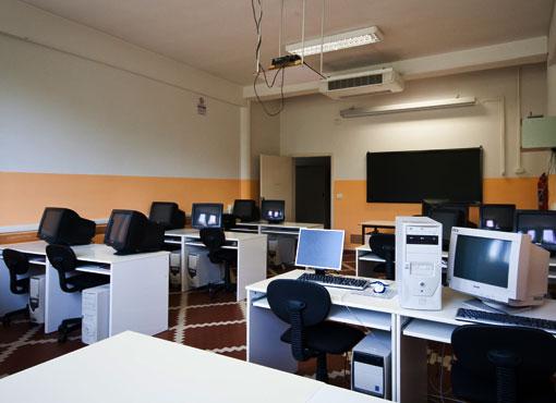 Aula informatica - Istituto Leonardo Da Vinci a Prato